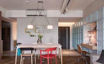 66平简约风格二居室装修设计案例