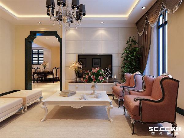 深蓝色室内门美到没朋友了,为什么不用电自己喜欢的色彩呢。说不定会收到不一样的效果哦。浅色地板干净又柔和,电视背景墙像白巧克力一样甜蜜柔软。欧式家具是高端大气的担当哦。