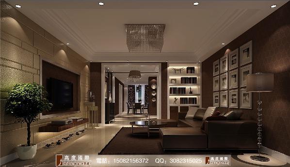 仁和春天客厅细节效果图---成都高度国际装饰设计