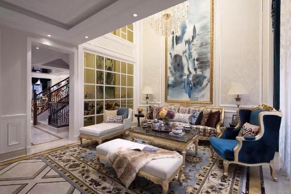 别墅装修欧式风格设计,客厅装修设计