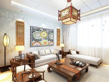 中式风格  智造创想城 72㎡