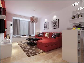 天天家园二室一厅现代简约风格