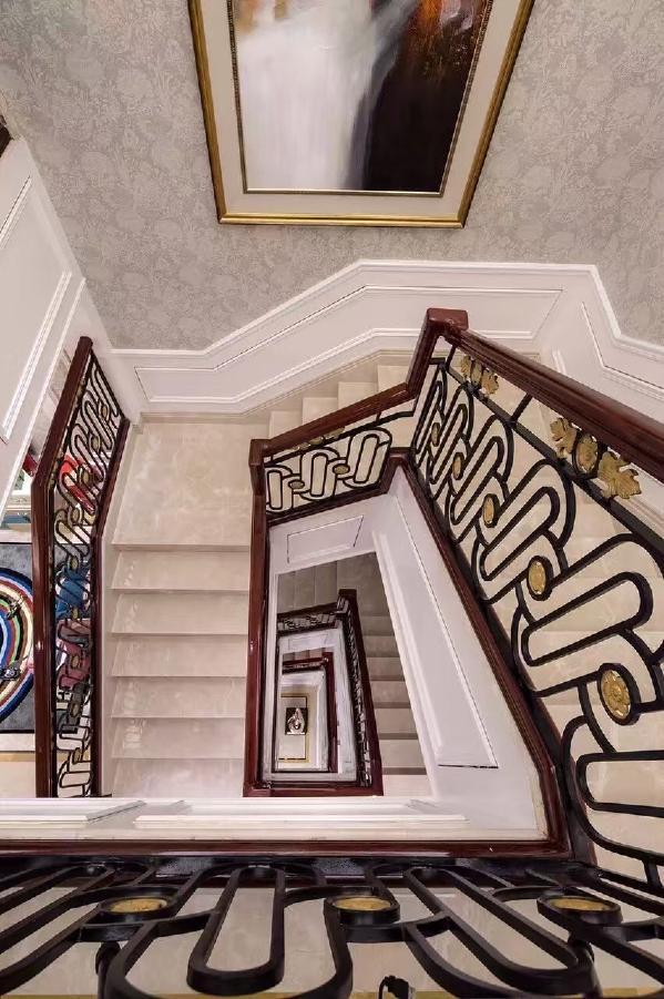 别墅装修欧式风格设计,楼梯的设计