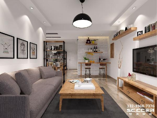 设计 理念工业风的基础色调选择黑白色系准没错。黑白色系营造的雄性、冷静、理性的质感 主材 说明地板:卢森 墙漆:福乐阁