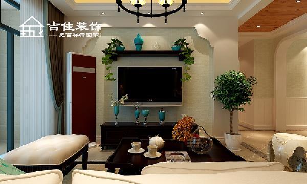 整个空间用护墙板、线条、及桑拿板造型顶相互映衬,同色系的搭配营造出和谐的美感,使的生活氛围时尚简约但又不失韵味;
