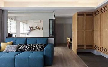 96平北欧风三居装修创造多变空间
