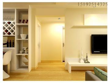 新都心苑两居室简约装修设计