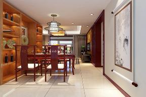中式风格 二居 宜家 装修设计 餐厅图片来自业之峰装饰旗舰店在微霞尚满天的分享