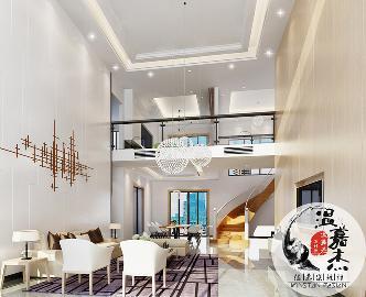 40万打造东方现代舒适别墅