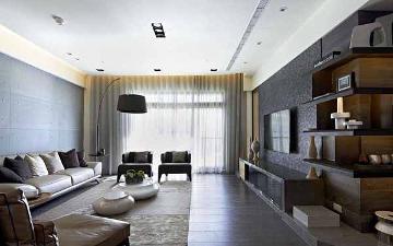 金榜雅苑123平混搭三室装修设计