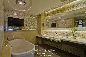 别墅 旧房改造 中式 收纳 舒适 温馨 小资 80后 白领 卫生间图片来自fy1831303388在三利宅院实景照的分享