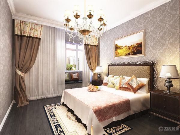 主卧室次卧室均以石膏线圈边做装饰。地面铺800*800地砖,电视背景墙没有过多造型,沙发背景墙以挂画做装饰,整个空间氛围更具活力,简单的诠释了后现代风格的特点;简单却不乏味。