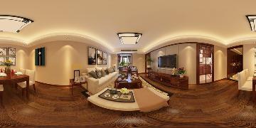 丽岛2046中式102平三房两厅