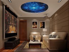 新中式 混搭 别墅 客厅 卧室 其他图片来自沙漠雪雨在天恒乐墅420平米新中式东方韵味的分享