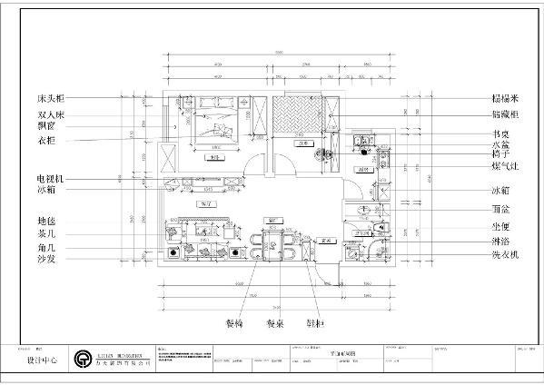 此户型为华润橡树湾,2室2厅1卫1厨,面积为80㎡。