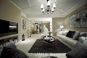白领 收纳 旧房改造 80后 小资 美式 舒适 温馨 高富帅 客厅图片来自fy1831303388在中铁奥维尔美式的分享