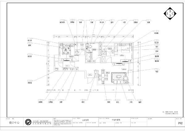本方案是弘泽鉴筑5号楼标准层光景居户型,3室2厅2卫1厨,其面积为113.00㎡。以顺时针方向先是厨房,然后是次卧和次卧卫生间,再是书房,再接着是主卧和主卧卫生间,再然后就是客厅和餐厅。
