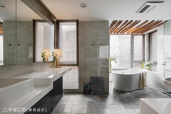 以精品饭店的设计概念打造,利用进口地砖和进口陶瓷薄板,创造出精致的立面视觉效果。