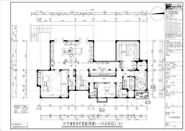 BF平面家具布置图