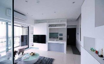 56平一居室装修简约设计创造层次