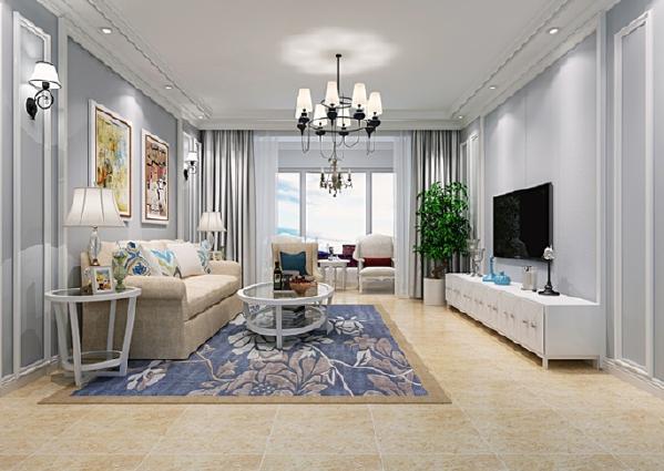 客厅是家人休闲娱乐,朋友聚会常用的场所,在构思的时候想的较多,造型设计自然也相对较多。