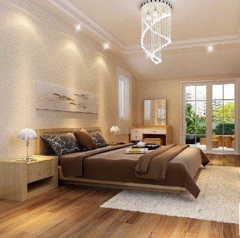 卧室:采光丰富,简洁大方,功能齐全,与整体设计结合,现代时尚。