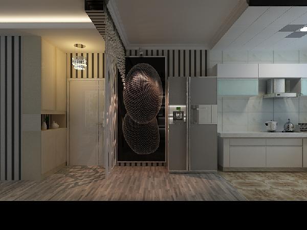 干净透彻到心底的色彩与简单朴质的家具,将淡雅的风格展现的淋漓尽致,这就是朴质淡雅的简约风格!设计师以简约流畅的线条勾勒出一幅如画餐厅。