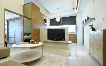 47平米简约风格一室一厅装修