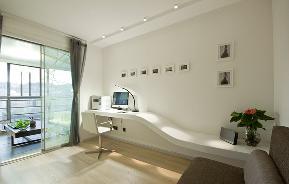 简约 三居 现代 温馨 阳台图片来自重庆天地和豪装工厂店在外形简洁的现代风格设计的分享