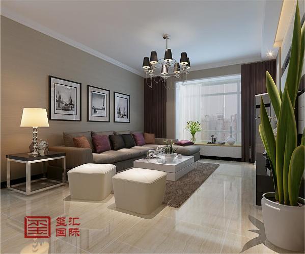 本方案是围绕现代简约为主题,适合三口之家居住,以简洁明快的设计风格为主调,简洁和实用是现代简约风格的基本特点