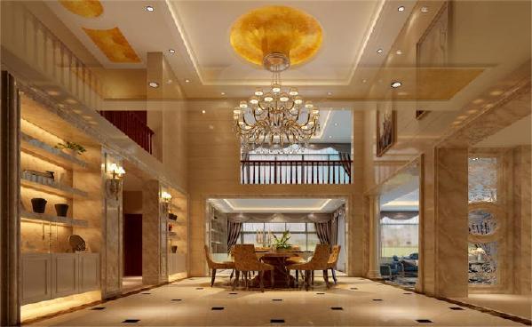 设计中我们却着重于灯光的把握,分路控制灯光,不但使房间在使用功能上有不同的变换,同时也使房间增添了不同的气氛并使之散发出异彩。