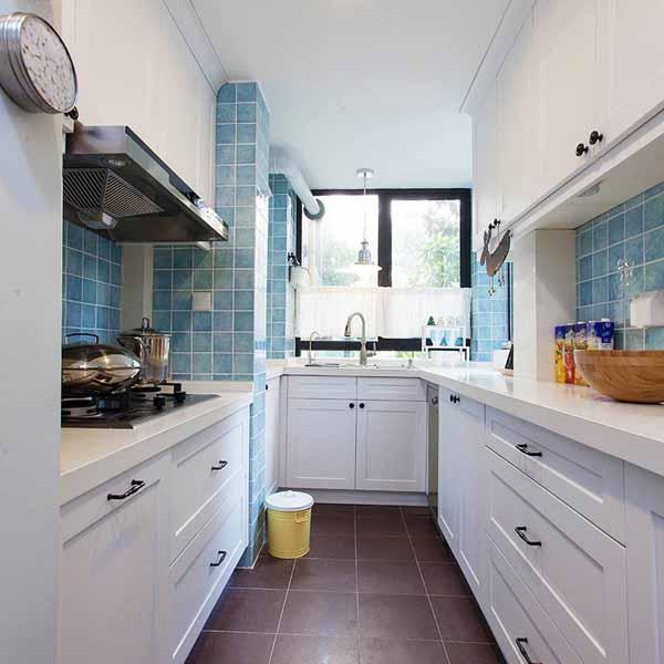 厨房图片来自上海潮心装潢设计有限公司在68平美式风格二室两厅装修
