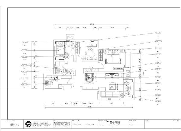 本案为社会山标准户型3室2厅1卫1厨86㎡的户型。这次的设计风格定义为现代风格。