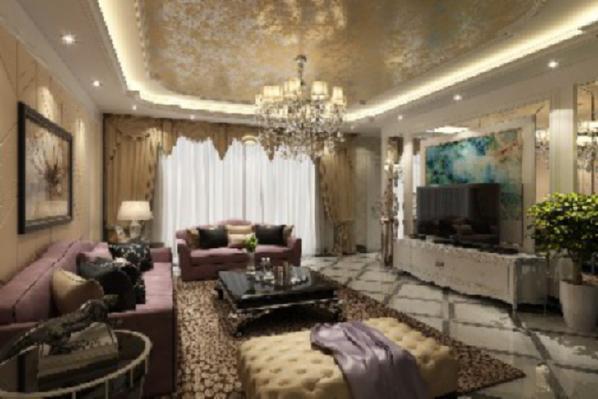 客厅是一个公共空间,进门后可以直接看到的区域,而且用于接待客人,很能体现主人的生活品味,因此要多花心思进行装扮。一些玻璃装饰框,形成简约的客厅效果,烘托出一种淡雅的气氛。