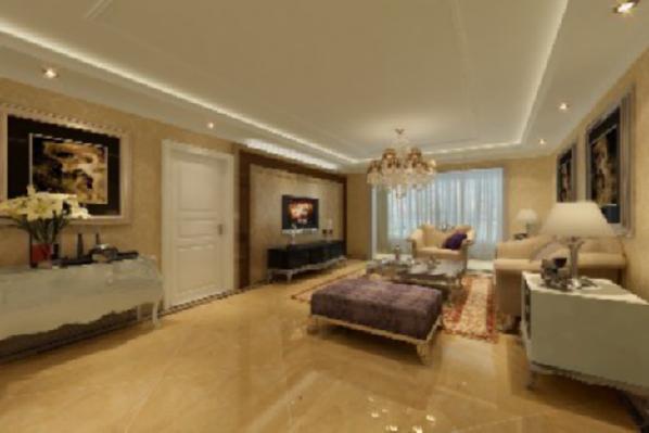 客厅是待客的场所,也是体现主人品位的第一平台。此案采用经典的欧式家具作为主角,搭配质地优良的壁纸、唯美的窗幔、抢眼的电视背景墙,将欧式风格的精髓演绎的淋漓尽致。