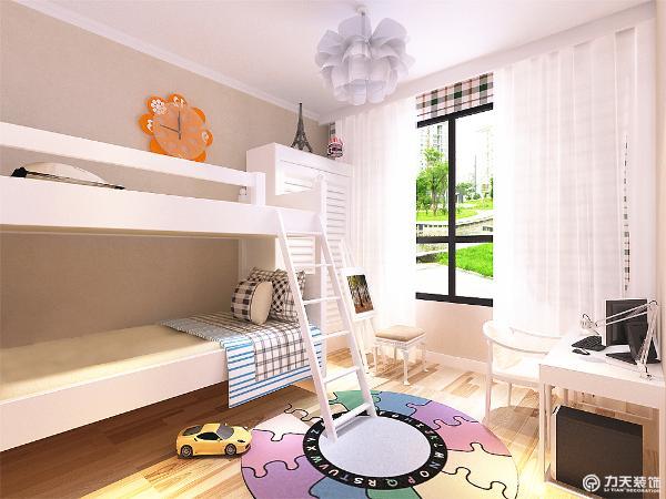 卧室整体温馨舒适,床头背景以照片墙的形式,配以白色的家具加上大阳台充足的采光使床头增加活力。让卧室更加魅力。