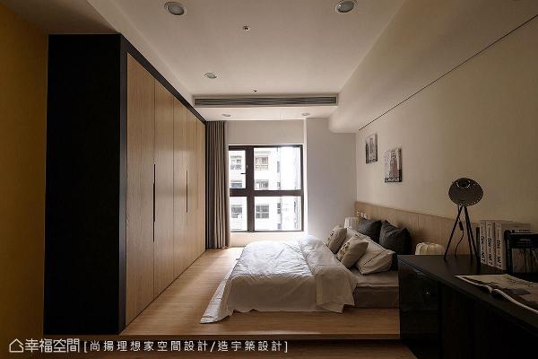 运用白橡木的温润质感,铺述在小孩房的壁板及柜面等处,让幸福的芬芳优雅地流转。