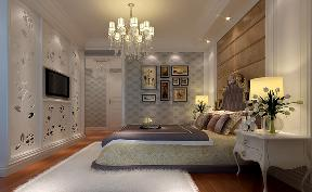 欧式 复式 温馨 卧室图片来自居众装饰WX在欧式家装风情的分享