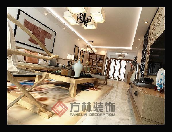 沈阳五矿紫金御府111平米中式风格装修案例