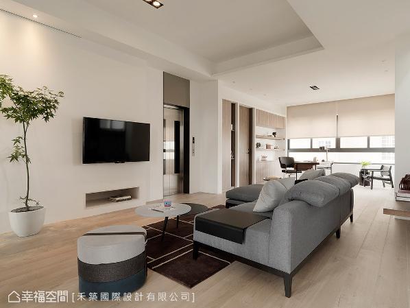 整层楼皆归属于未来小主人的私人领域,拥有客厅、书房、睡眠区等完整机能。