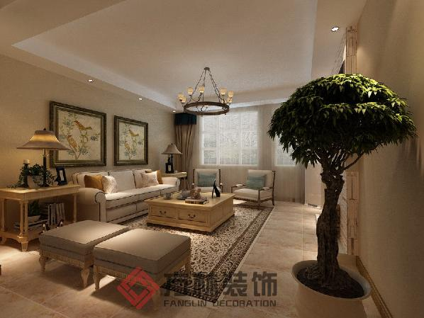 沈阳市大东区金地艺境二期小户型76平米东南亚风格装修案例