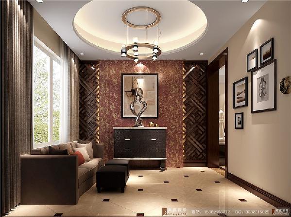 中德英伦联邦玄关空间-----成都高度国际装饰设计