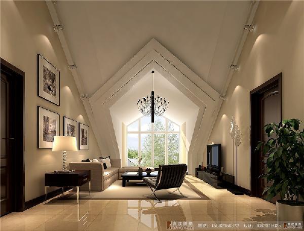 中德英伦联邦阁楼细节处理-----成都高度国际装饰设计