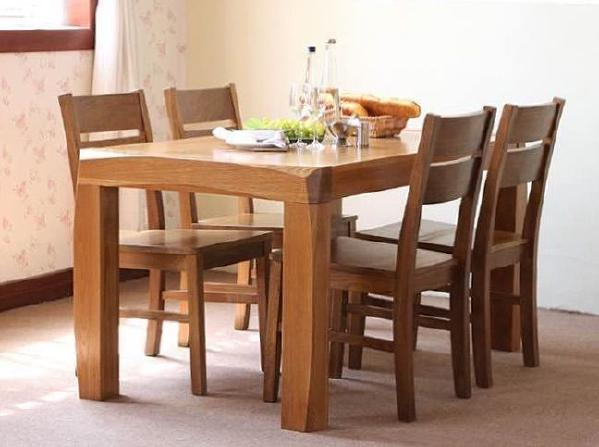 全美国白橡餐桌椅 oak dining tble and chair 桌子有1350*800*760    1500*850*760两个尺寸