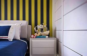 后现代港式 小资 三居 文艺青年 卧室图片来自武汉全有装饰在花样年花样城后现代港式演绎的分享