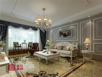 紫晶悦城194平跃层欧式风格