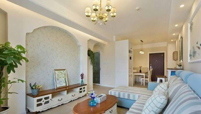 客厅图片来自广州泥巴公社装饰小方在蝶舞花香*田园风的分享