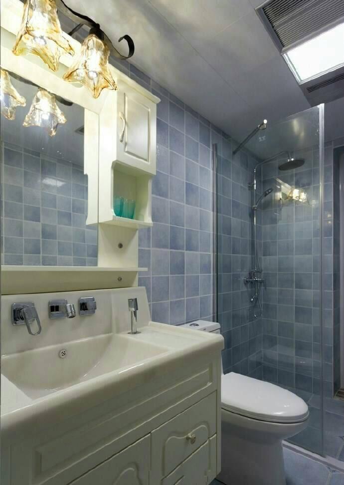 卫生间图片来自广州泥巴公社装饰小方在蝶舞花香*田园风的分享