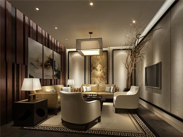 山海苑售楼处及样板房项目装修设计方案展示,上海腾龙别墅设计,设计总监孔继民作品,欢迎品鉴!