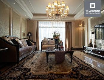 世贸锦绣长江两室两厅 欧式古典